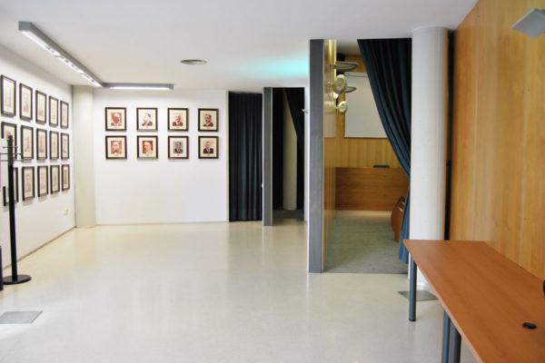 Lloguer de sales: exterior sala conferències