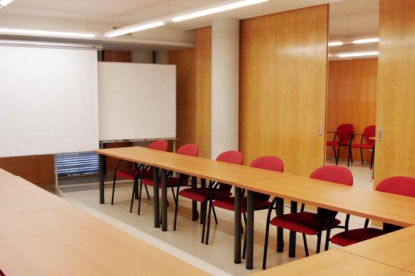 Lloguer de sales: Sala D - sales format auditori