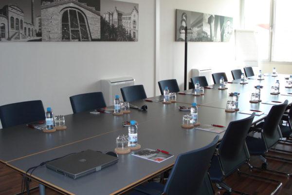 Lloguer de sales: vista general sales per a cursos i reunions