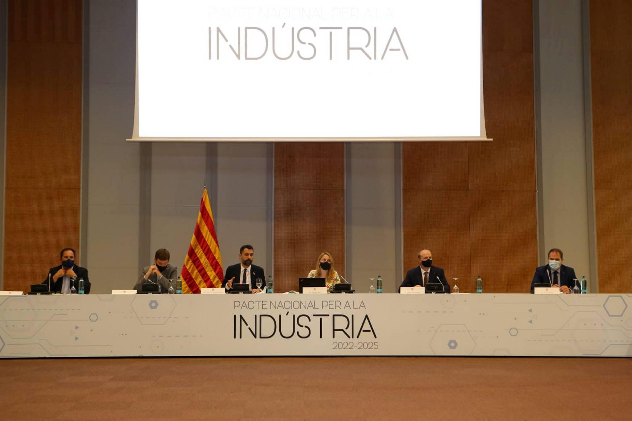 Primera taula de negociació del Pacte Nacional per a la Indústria | Jordi Salinas